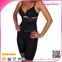 Perfect Black Fir Slimming Braless Body Shaper with Thighs Slimmer