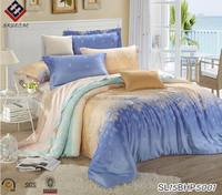 A version tencel satin Jacquard wedding set+B version of pure cotton western bedding style