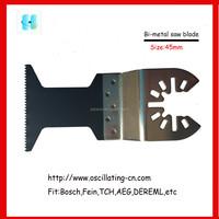 45mm fast cutting rate Bi-metal oscillating saw blade(d)