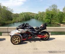 Motocicleta altavoces a prueba de agua