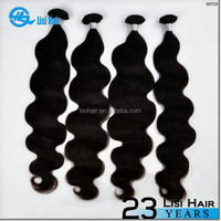Popular 2015 Factory Price Natural Color Best Selling Double Weft black pearl weave