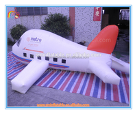 Factory price giant inflatable plane for advertising,cheap inflatable plane model for sale