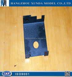 ISO9001 approved cnc machining aluminum alloy prototype with grit blast / abrasive blast / sand blast outcome
