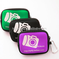 Soft Neoprene Digital Camera Case Promotion Bag