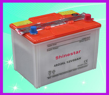 Standard dimensions remote control car batteries for sale 48D26L