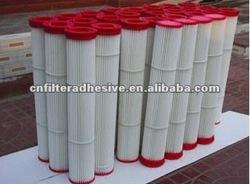 red glue for filter(manufacturer)