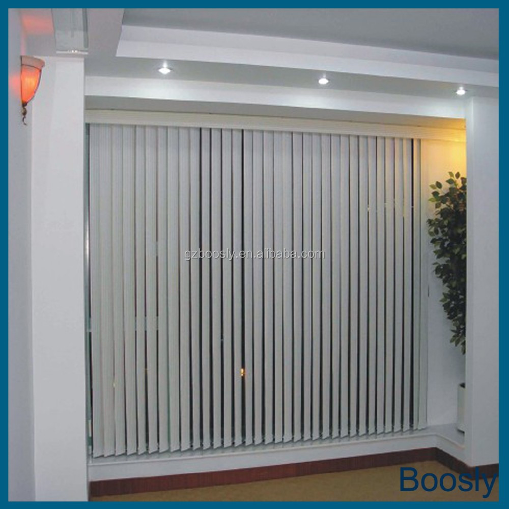 Curtains With Vertical Blinds Decorate The House With