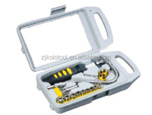23PCS bits sockets combination hand tool set