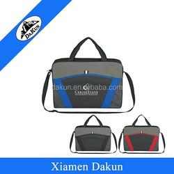 600D Polyester school bag material of briefcase laptop case bag DK14-2496/Dakun
