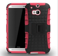 2 in 1 Combo Protective Silicone and PC Hard Case for Samsung Galaxy S5