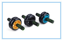 Hot sale fitness power indoor exercise and strength training AB Roller Double Exercise Wheel