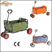 handle pull garden cart/pull wagon/tool cart