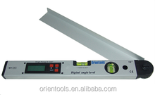 225 Degree Digital Angle Level with Horizontal and Vertical Bubble Level