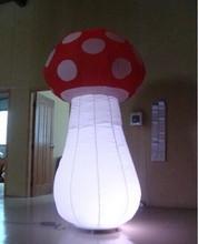 2014 Newest Wonderful inflatable lighting mushrooms/Christmas decoration
