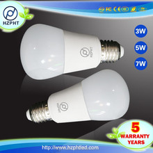 FOB SHENZHEN led factory 120lm top selling products in alibababa E27 led bulb 5W 3 watt led bulb
