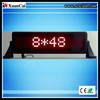 CE RoHS 12V 848pixel Red Car LED Moving Message sign