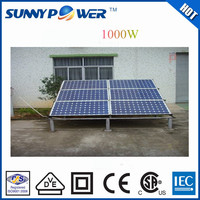 solar energy system1000W factory direct price maunfacturer solar power system for home use solar panel production line