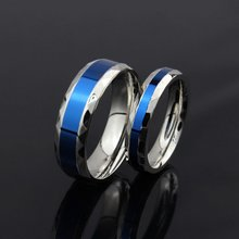 Fashion stylish titanium ring comfort fit