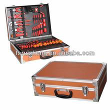 Wholesale small heavy duty carrying aluminum tool case RZ-LTO013