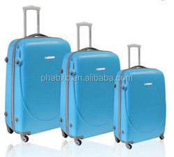 new products competitive price and superior quality abs trolley luggage