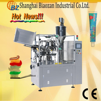 factory price high speed plastic thermoforming filling sealing machine