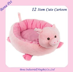 New arrival Cute Cartoon Plush Pet Dog Cat Bed