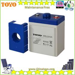 Maintenance Free Battery VRLA 2v100ah - 2v3000ah battery Solar Battery