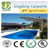 Hot!!! Heat ray protection and UV resistance aluminum alloy carport (JR)