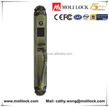 Combination lock containers, card password lock