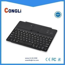 Best price Aluminium Bluetooth wireless keyboard for iPad,perfectly fits for iPad, magnetic absorption design