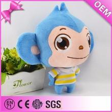 2015 kawaii toys blue plush monkey