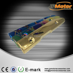 Blue/Yellow/Rainbow Motorcycle Muffler Heat Insulation-Cover Heat Shield Fit For motorcycle