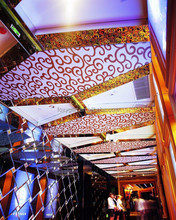 Factory supplying thousands of new designs for restaurant ceiling decoration . With is 2.35 to 3.2 meters ,