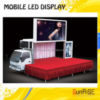 Big Truck Led PanelLed Billboard Tvp p10mm,Display Truck With Display Screen,Outdoor Moving Advertising Truck For Sale
