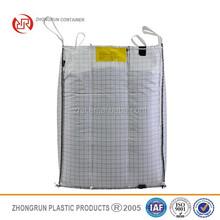Fibc bag/Conductive jumbo bag FIBC Big Container bags 1000kg,Zhongrun jumbo bag manufacturer