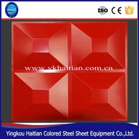 Color Steel Sheet 3D Gusset Plate Forming Machine