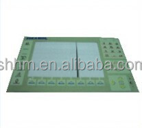 Membrane switch for Picanol weaving looms Applicable Machine NO:BE300360.Used in OMNI/OMNIPLUS/GAMMA of PICANOL