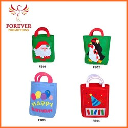 Handmade Felt Shopping Tote Bag With Handles Made in China