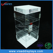 Custom counter acrylic electronic cigarette display case