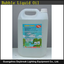 5 liter per piece safety bubble oil liquid , bubble machine fluid , stage bubble fluid oil