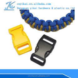 wholesale 5/8'' curved buckle small buckles plastic buckles for backpacks
