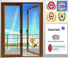 China Alibaba Gold factory/Alibaba trade assurance casement window with high quality GM-C050