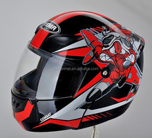 YM-920 full face flip-up motor helmet dot approved helmet ece r22.05