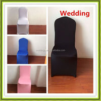 HOT SALE colourful cheap polyester spandex chair cover for wedding event(wholesale)