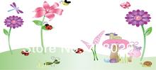 DF5096 mariquita dragonfly pegatinas de pared
