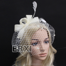 2015 New Fashion Bridal Hair Accessories Fascinator With Feather