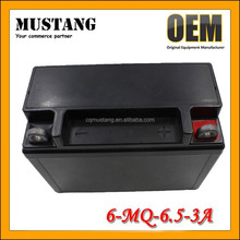 12V 6.5Ah MF Super Rechargeable Sealed Lead Acid Battery for Motorcycle Scooter and Moped