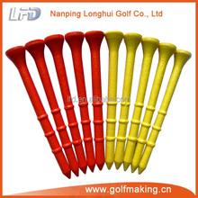 Custom new style bamboo golf tee offers