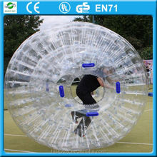 2015 popular and new design zorb ball in discount , zorbing ireland,zorb ball rental