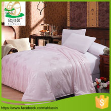 With muti bright color luxury silk comforter sets